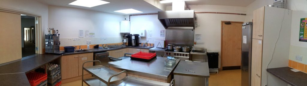 Venues for hire in Watford, WD17 3EG  – St Lukes kitchen