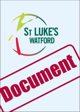 St Lukes Watford document